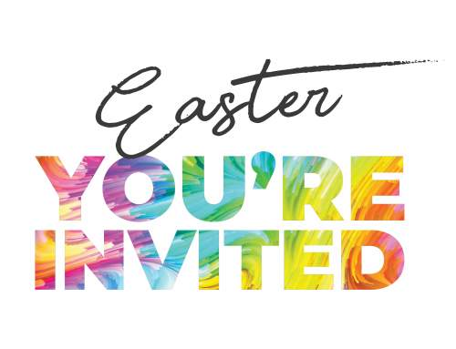 You're invited to Easter @ Mueller Church