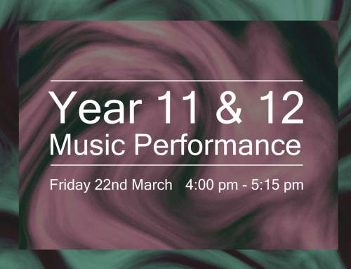 Year 11/12 Music Performance