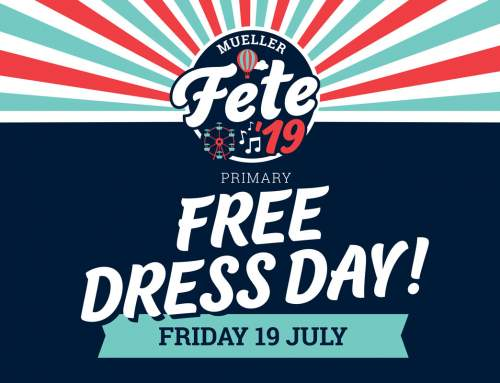 Fete Free Dress Day // THIS FRIDAY