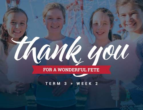 Thank You for a Wonderful Fete!