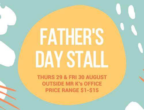 Fathers Day Stall
