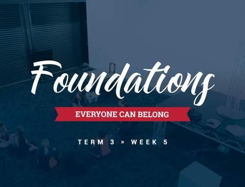 Foundations of Belonging