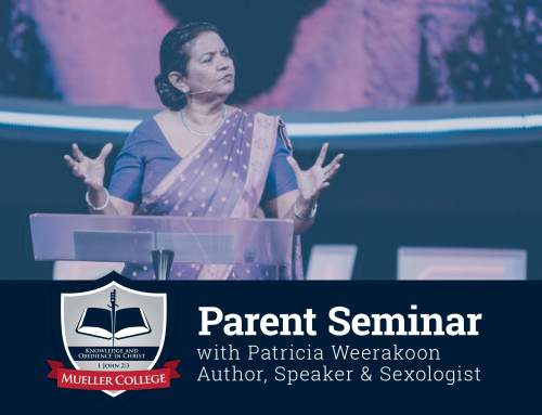 Parent Seminar with Patricia Weerakoon
