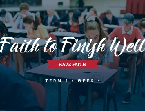 Faith To Finish Well