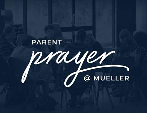 Join us at Parent Prayer Group