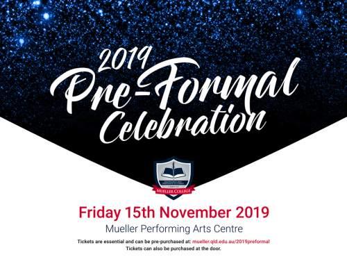 Pre-Formal Celebration