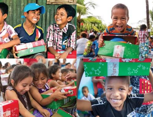 Operation Christmas Child at OSHC