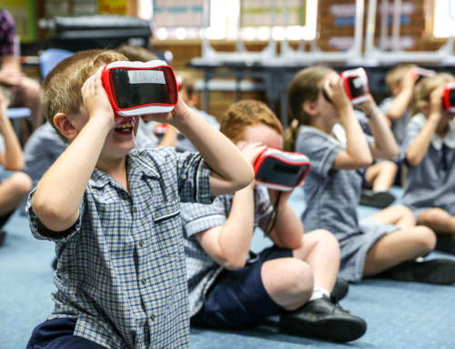 Year Fours Go Exploring With Virtual Reality
