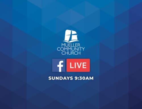 Join Mueller Community Church Online