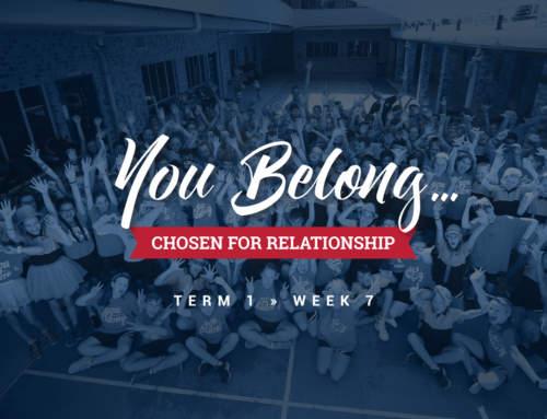 You Belong!