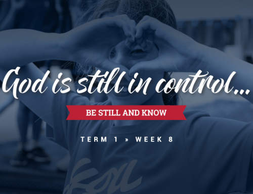 God is still in control…
