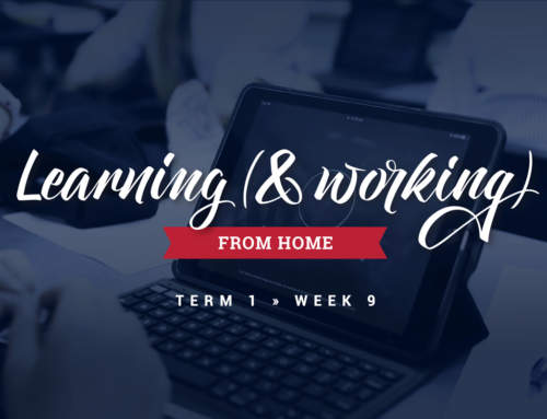 Learning (and working) from Home