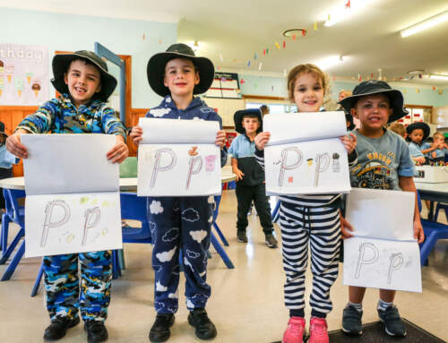 'P' is for Preppies in Pyjamas
