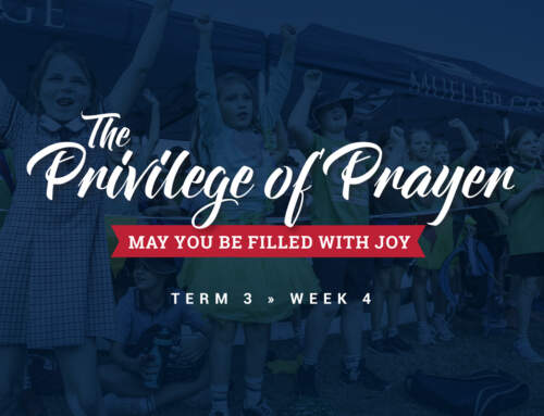 The Privilege of Prayer