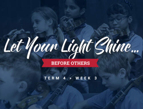 Let your light shine…