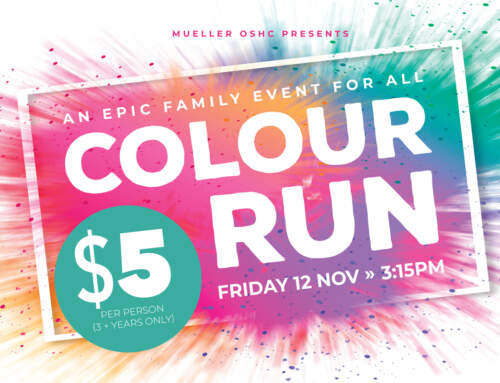 Get Messy at the OSHC Colour Run
